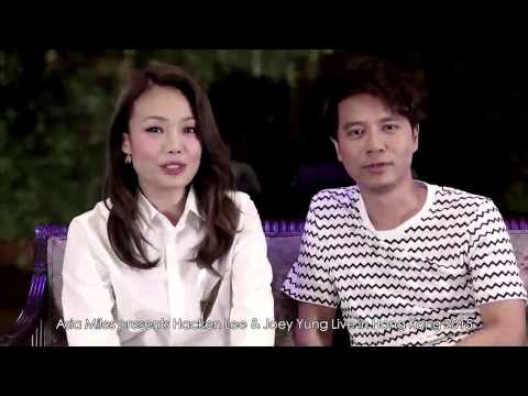 "Asia Miles presents ""Hacken Lee & Joey Yung Live in Hong Kong 2015"""