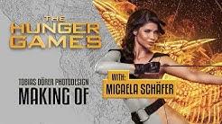 THE HUNGER GAMES (Tribute von Panem) with Micaela Schäfer - Photoshop Tutorial by TOBIAS DÖRER
