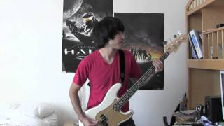 Mayday Parade - Jamie All Over Bass Cover (With Tab)