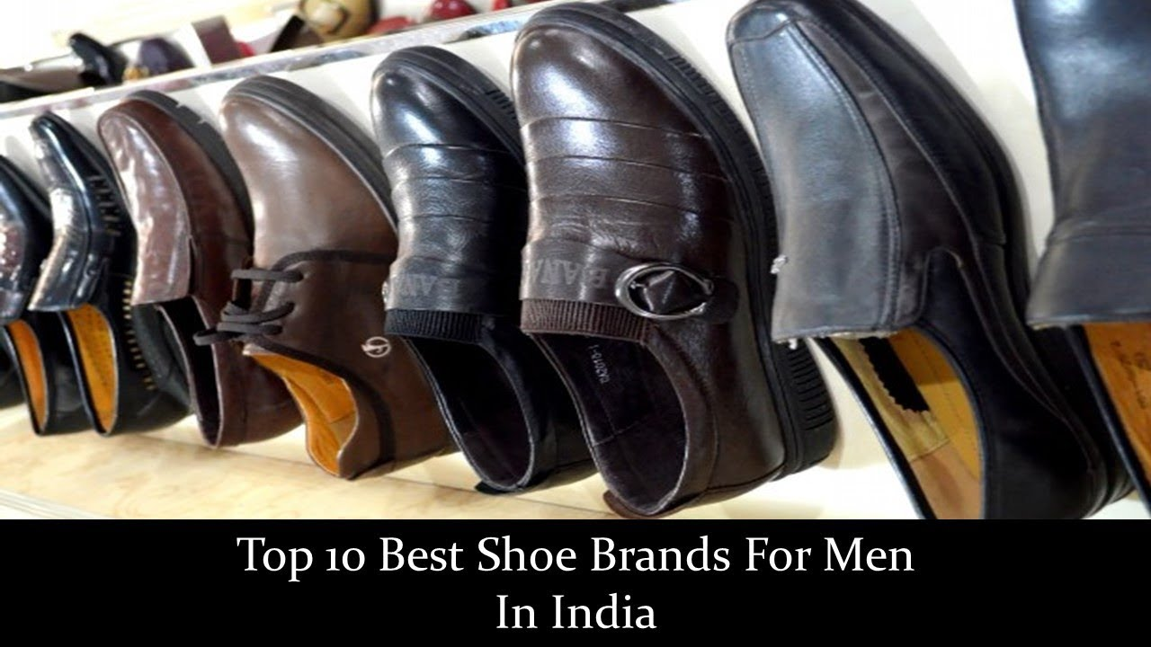 b4649ab9bfa47f Top 10 Best Shoe Brands For Men In India - YouTube