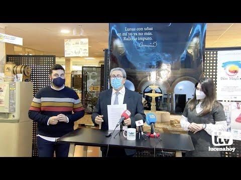 """VÍDEO: Llegan los """"Días Mágicos"""" del Centro Comercial Abierto para incentivar las compras en Lucena"""