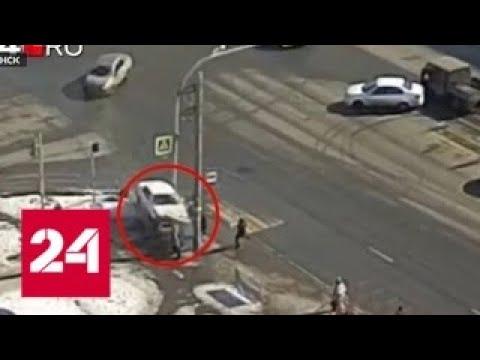 В Челябинске машина сбила коляску с ребенком и пешеходов