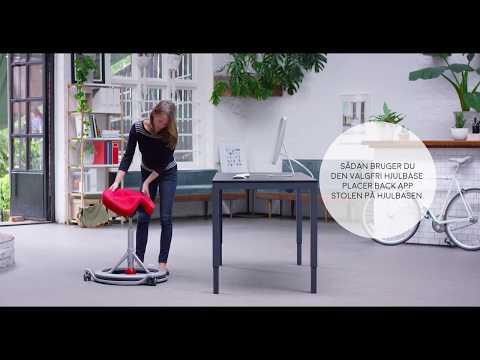 Back App 2.0 | Bedste ergonomiske kontorstol uden ryg | TILBUD