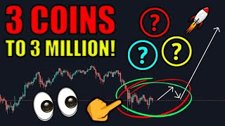 Top 3 Coins To $3 Million (Cryptocurrency Picks To Become Millionaire)