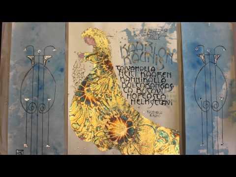 Art Nouveau Kalligrafiassa/ Art Nouveau in Calligraphy