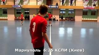 Гандбол. КСЛИ (Киев) - Мариуполь - 37:10 (2-й тайм). Детская лига, 4-й тур, 2001 г.р.