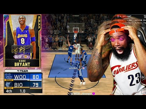 1 SECOND LEFT KOBE BRYANT BUZZER BEATER! G.O.A.T 99 OPAL KOBE GAMEPLAY NBA 2K20