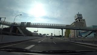 阪神高速11号池田線:池田木部第二入口 → 環状線【HD車載動画】
