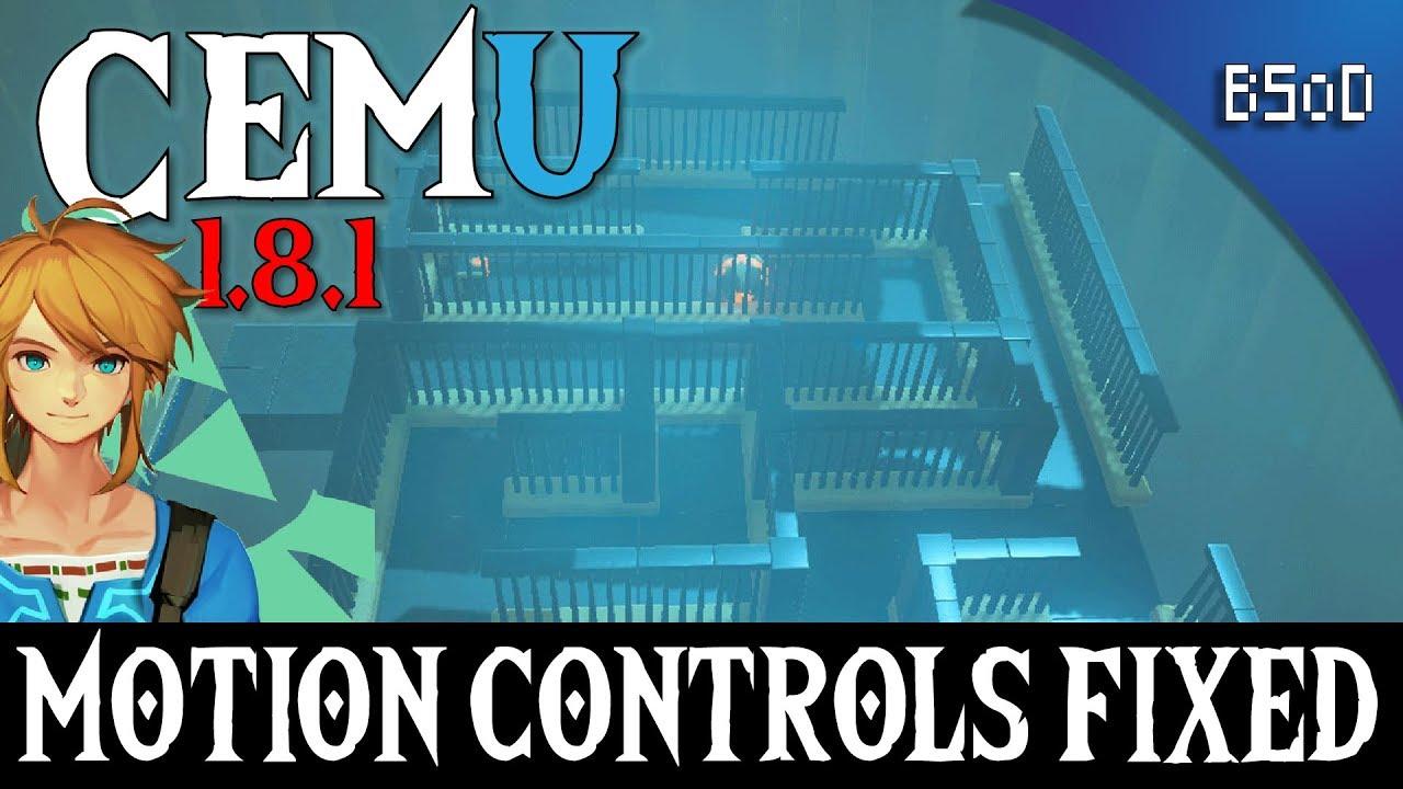Cemu 1 8 1 | Motion Controls/Gyro fixed