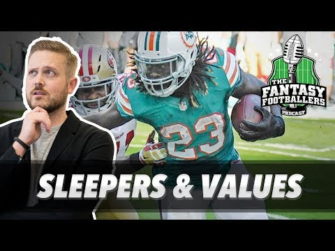 Fantasy Football 2017 - Sleepers + Values LIVE from the Great White North - Ep. #423