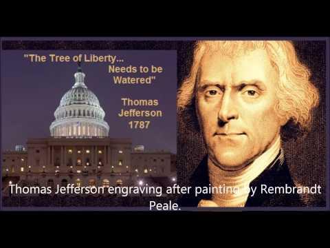 Tree Of Liberty Needs Watering - Thomas Jefferson