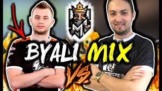 BYALI Z MIXEM VS DRUŻYNA KAROLKA W CLOSED KWALI DO PLE !!! - CSGO BEST MOMENTS