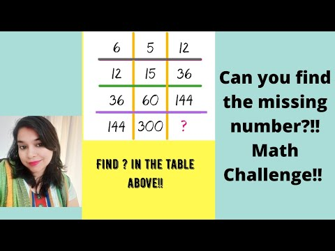 Can You Find The Missing Number?!! Math Challenge!!
