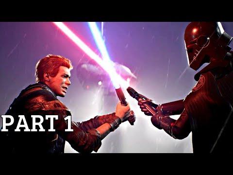 Star Wars Jedi Fallen Order - Gameplay Walkthrough Part 1 (Star Wars 2019) PS4 Pro