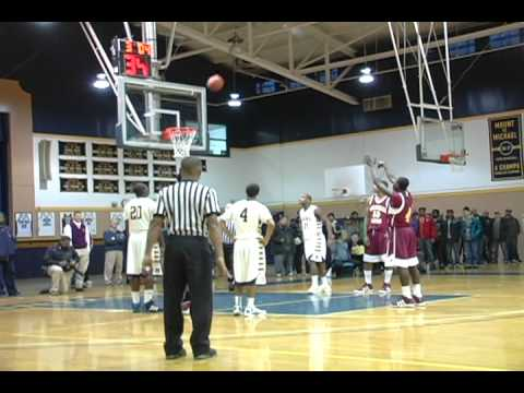 Shavar Newkirk highlights vs Mount st Michael Academy