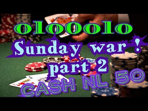 NL50 CASH # 48/ 11 POKERSTARS by olo0olo live session