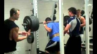 Just a Normal Day in Lifting 550lbs - Andy Cannizzaro