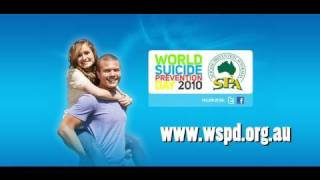 Joe Roff lends a hand to raise awareness for World Suicide Prevention Day