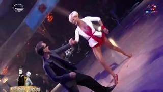 გიორგი ბახუტაშვილი და ჯულიანა ბარგნარი-ცეკვავენ ვარსკვლავები 2017/George and Julianna 2017
