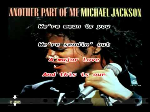 Another Part Of Me (Michael Jackson) Karaoke