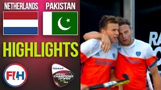 Netherlands v Pakistan | 2018 Men's Hockey Champions Trophy | HIGHLIGHTS