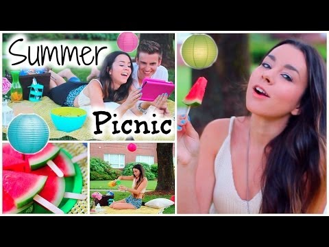 Summer DIY Picnic! Food, Outfit + Tumblr Decor & Essentials!