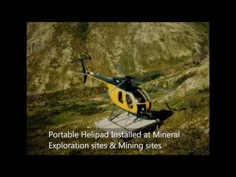 Portable Helipad for Industries & Defense industry