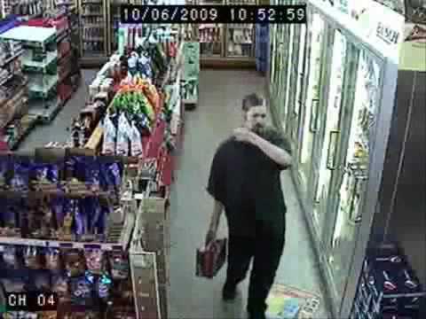 Drunk Guy In Store