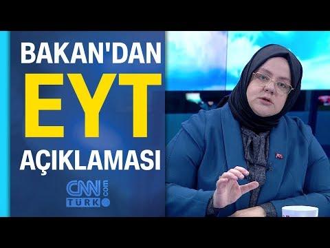 Bakan Zehra Zümrüt Selçuk'tan Yeni Emeklilikte Yaşa Takılanlar (EYT) Açıklaması