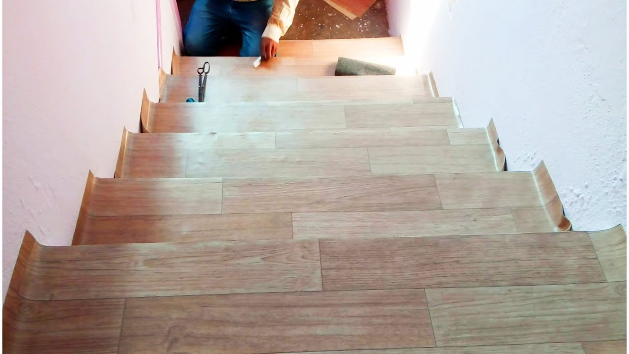 Floor Mat For Staircase How To Lay Sheet Vinyl Flooring Stciking