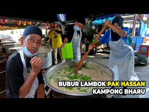 5000 Packs of Porridge Sold DAILY | Bubur Lambok Pak Hassan Kampong Bharu, Kuala Lumpur in Malaysia