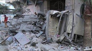 Israel Keeps Up Raids On Gaza Targets