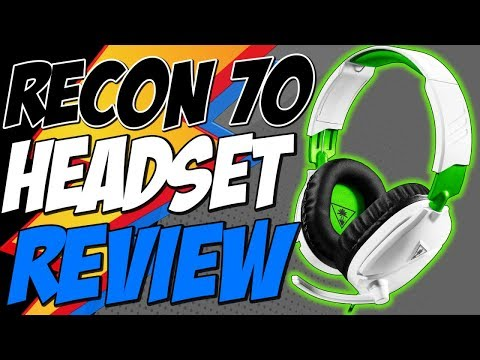 RECON 70 REVIEW BEST AFFORDABLE GAMING HEADSET - Turtle Beach