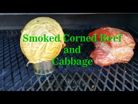 Smoked Corned Beef And Cabbage