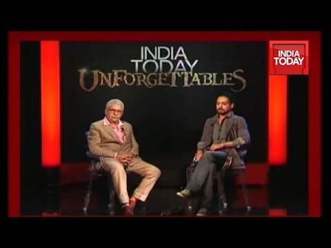 India Today Unforgettables: Irfan Khan & Naseeruddin Shah