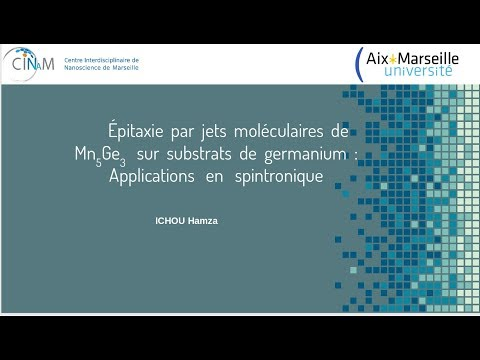 épitaxie par MBE d'un métal pour des applications en spintronique