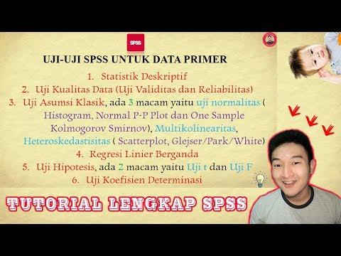Cara mengolah data menggunakan SPSS 16.0 By Ilham Fajri.