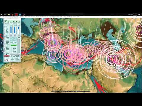 1/23/2018 -- West Pacific gone silent + 9 volcanoes erupting simultaneously