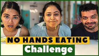 No Hands Eating Challenge (Ft. Flying Beast) // Captain Nick