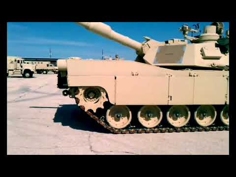 M1A2 turbine start-up - The real one and the Tamiya
