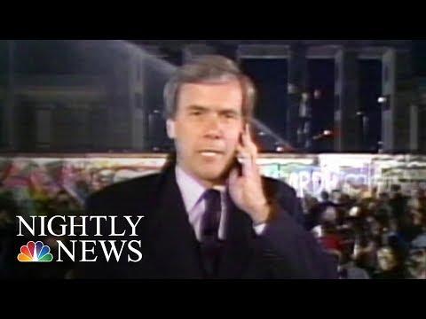 Berlin Wall Anniversary: Tom Brokaw Reports 30 Years Later | NBC Nightly News