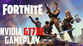 Fortnite gameplay!! using gt 710!! budget graphic card🕹️🎮🎮🎮🕹️🕹️