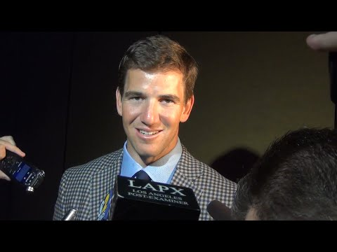 Eli Manning Talks About His Brother Peyton