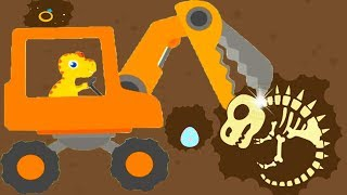 Dinosaur Digger 3 - The Truck Kids Game - Play Fun Dinosaur Digger Game For Kids By Yateland