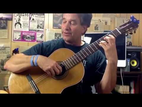 Learning classical guitar technique, learning Tremolo, Hunley guitar studio Los Angeles California