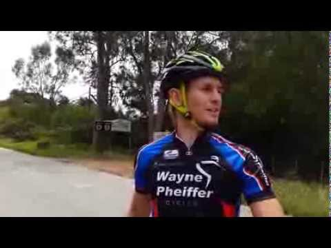 The Herald VW Cycle Tour climbs with Brent Pheiffer - Butterfield