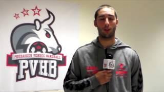 PVHB TV - Interview Jordan Djoudrez avant 22 octobre