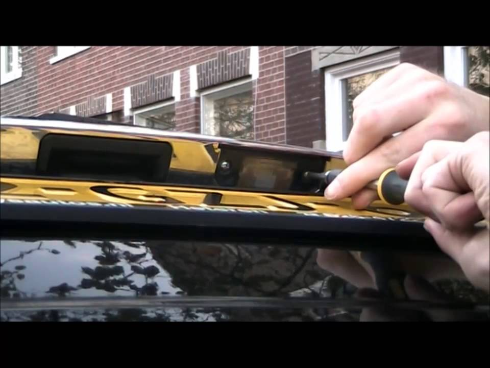 LED Kentekenverlichting monteren - YouTube