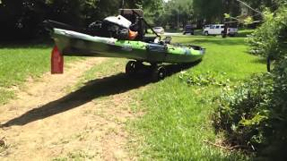 C-tug is the best kayak cart money can buy.(I try to demonstrate the awesome usage of the C-tug cart available at YakGear.com. Please comment rate and subscribe and please let me know if you like my ..., 2014-06-20T00:28:21.000Z)