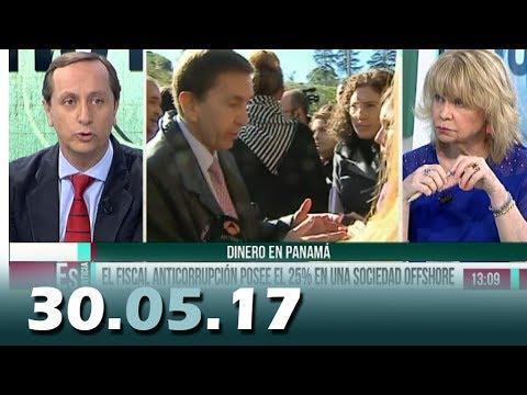 Hoy Es Noticia 13tv 30.05.17 | Mesa Política | Fiscal Anticorrupción posee 25% de sociedad OffShore